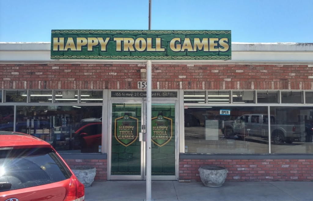 happy troll games